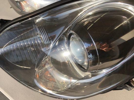 ドリームコート施工後のレクサスSC430ヘッドライトの状態2