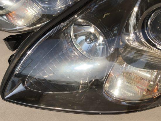 クラック除去後のレクサスSC430のヘッドライトの状態2