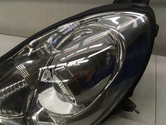 SC430のヘッドライトのクラックがのペア完了状態