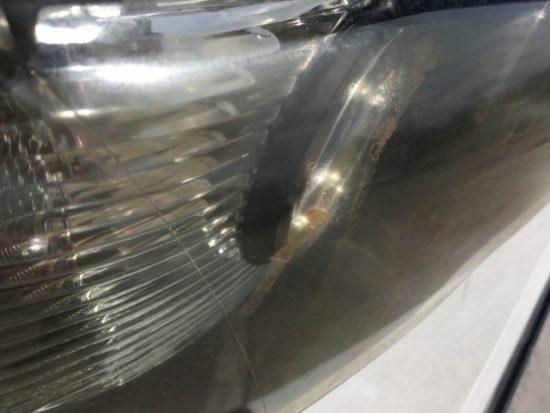 BMWのヘッドライト黄ばみ