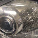 レクサスRXのクラックが発生したヘッドライト