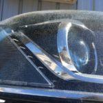 VWパサートのヘッドライトクラックの様子
