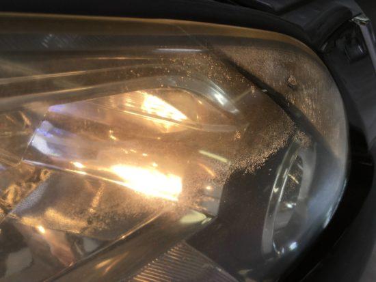 アルファードヘッドライトクラック除去ブライトマン施工 (3)