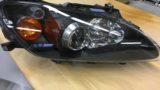 ホンダS2000のヘッドライト黄ばみ除去とクリア塗装施工 (10)