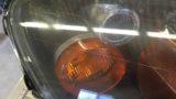 ホンダS2000のヘッドライト黄ばみ除去とクリア塗装施工 (2)