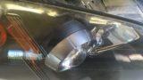 ホンダS2000のヘッドライト黄ばみ除去とクリア塗装施工 (4)