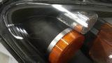 ホンダS2000のヘッドライト黄ばみ除去とクリア塗装施工 (5)