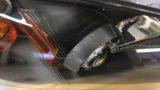 ホンダS2000のヘッドライト黄ばみ除去とクリア塗装施工 (9)