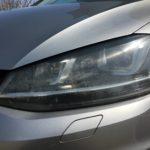 輸入車のヘッドライトクラック除去